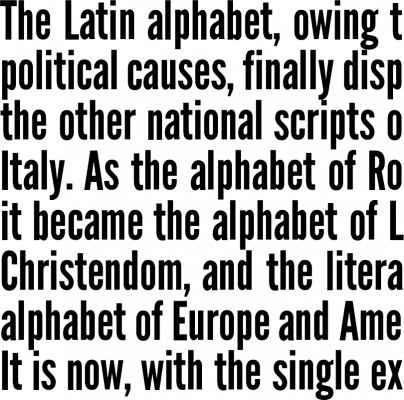 League Gothic Font Free by The League of Moveable Type » Font Squirrel