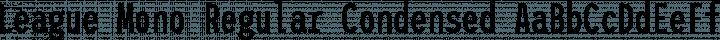 League Mono Regular Condensed free font