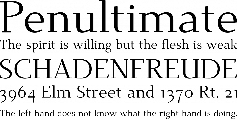 Dehuti Font Free by T  Christopher White » Font Squirrel