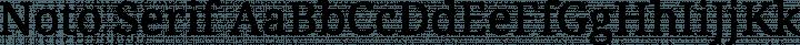 Noto Serif Regular free font
