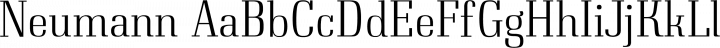 Neumann Regular free font
