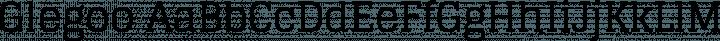 Glegoo Regular free font