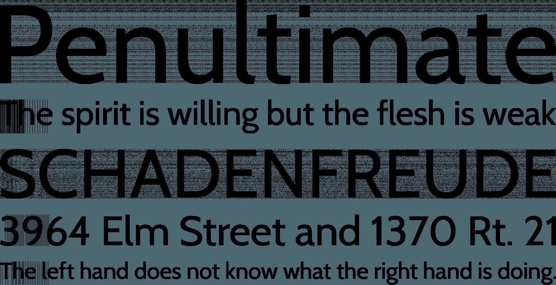Cabin Font Free by Impallari Type » Font Squirrel