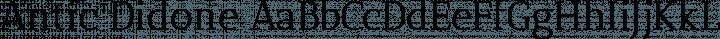 Antic Didone free font