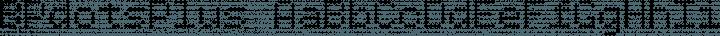 BPdotsPlus Regular free font