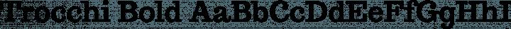 Trocchi Bold free font