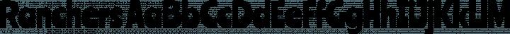 Ranchers font family by Impallari Type